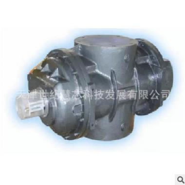 LLQ-650气动容积式流量计 容积式管道流量计 防爆容积式流量计
