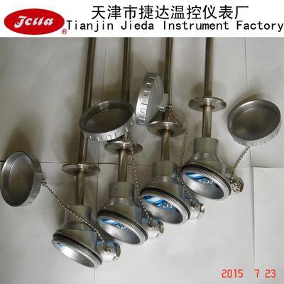 天津生产Pt100工业卡盘式热电阻/卫生型快装卡盘式热电阻