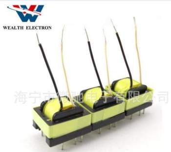UL认证高频LED电源手机充电器EPC17 单边4PIN 变压器厂家直销