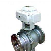 厂家供应不锈钢法兰螺纹电动球阀(DN65-80)||保修包换||全国发货