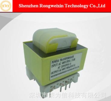 深圳变压器厂家热销控制板AC120V转AC10V0.5A插针式低频变压器