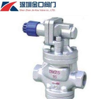 YG13H内螺纹高灵敏蒸汽减压阀 先导式高灵敏蒸汽减压阀