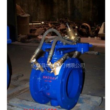 厂家直销 智能自控阀 HDZ744X-16法兰铸钢液力自动控制阀定制