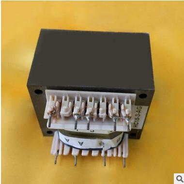直销供应 电动门插针式EI型变压器 家电低频门禁电源专用变压器