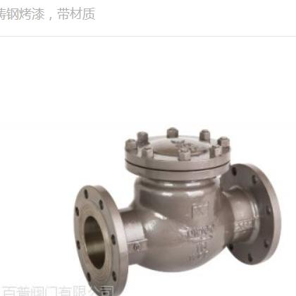中国百普铸钢止回阀H44H带材质