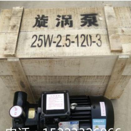 旋涡泵 漩涡泵 1W2.5-120-3 25w2.5-120-3 3KW旋涡泵 3千瓦漩涡泵
