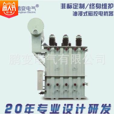 鹏变电气 电抗器MCR油浸式磁控电抗器无功补偿磁阀式高压电抗器