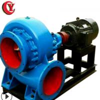 8寸200HW卧式大流量农业灌溉排涝混流离心泵柴油机电机池塘泵