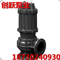 QW WQ QJ无堵塞潜污泵耐磨渣浆泵100WQ80-9-4灌溉泵