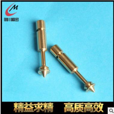 批发非标不锈钢定位销 MC-00010非标车削件铜螺杆厂家加工定位销