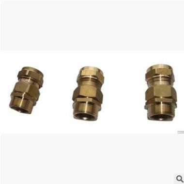 厂家直销 优质碳钢 黄铜防爆格兰头 电缆接头价格 规格型号齐全