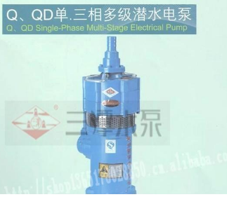 三潭牌QD多级潜水电泵杭州西湖潜水泵总厂