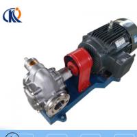 厂家供应 KCB系列不锈钢齿轮泵泵头 304卫生级食品 化工齿轮油泵