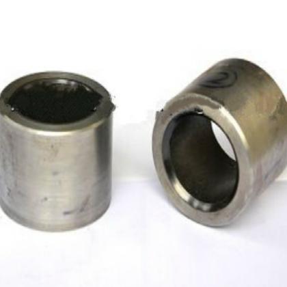 精达科技 钢塑复合耐磨衬套 内嵌式自润滑PEEK钢塑复合耐磨衬套