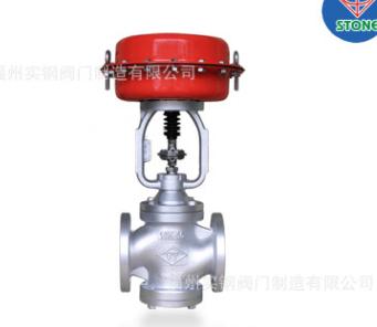 气动控制阀DN100 台湾蒸汽比例阀10K-100