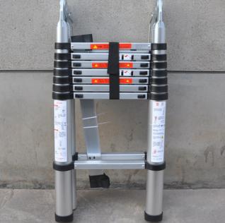 供应多功能5米关节两用伸缩梯 工程梯2.5+2.5M铝合金梯子