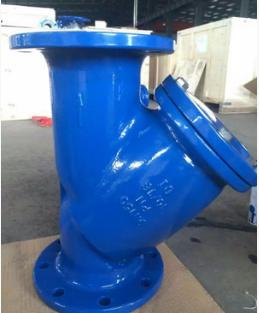 铸铁材质法兰德标Y型过滤器 GL41H生产基地厂家直销安徽纵横阀门