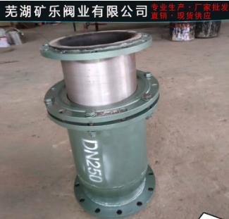 供应 管道伸缩器 GJ45J钢制套管衬胶伸缩节 产品供应批发