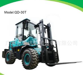 广州厂家供应3吨越野叉车,现货供应柴油叉车,四驱四缸