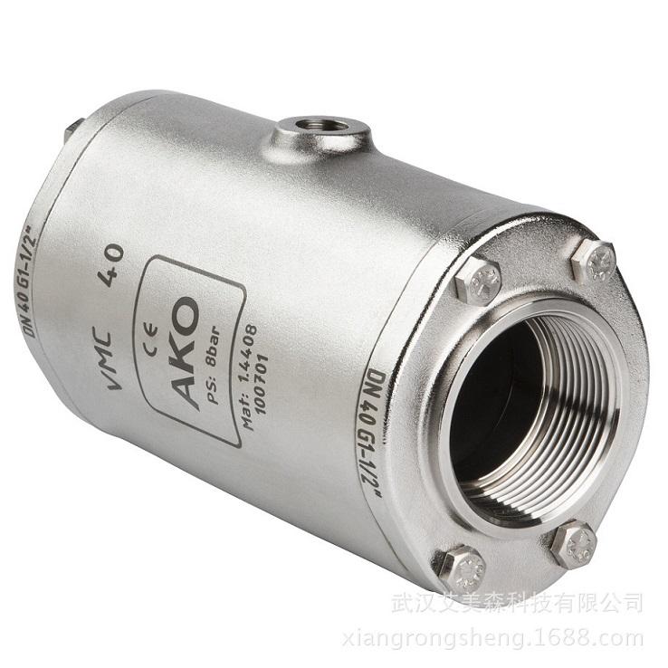 德国AKO    VMC气动夹管阀-内螺纹连接