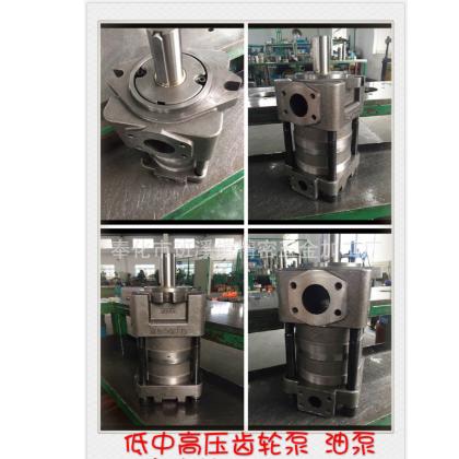 折弯机齿轮泵油泵剪板机直线共轭内齿合齿轮泵(低压泵)
