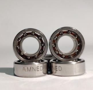 指尖陀螺轴承手指螺旋高速持久空转时间长R188超陶瓷球轴承