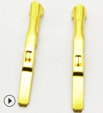 汽车插接件连接器冲压镀锡端子TW621-FBx0.6 价格可谈