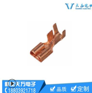 汽车插接件连接器高速冲床冲压镀锡端子DJ611-2*0.6 A 价格可谈