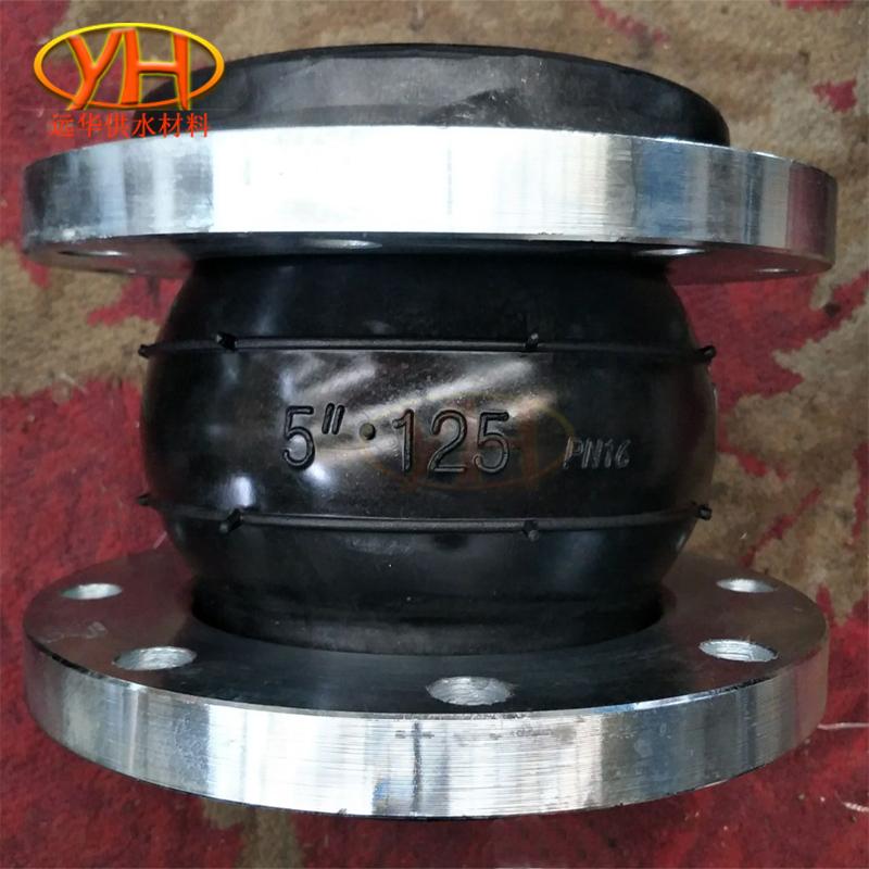 生产KXT型可曲挠橡胶接头管道柔性膨胀节DN200