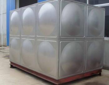不锈钢水箱制作保温水箱制作消防水箱制作 圆形水箱