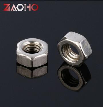厂家供应国标高强度内六角螺母 M6碳钢焊接加厚六角螺母 加工定制