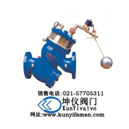 过滤活塞式电动浮球阀_上海坤仪阀门有限公司