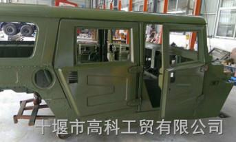 原装东风猛士EQ2050B驾驶室车身总成50C38-00020