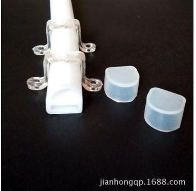 厂家直销led软灯条防水硅胶套管 硅胶套管 乳白色 LED灯饰配件