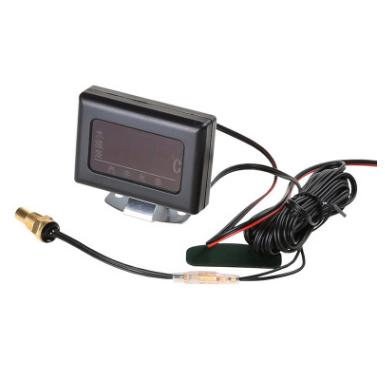 汽车货车12V24V改装工程车通用电子数字水温表发动机水温仪表