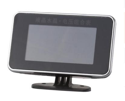 12-24V通用汽车改装车电子液晶水温电压表带感应头21mm(1/2)