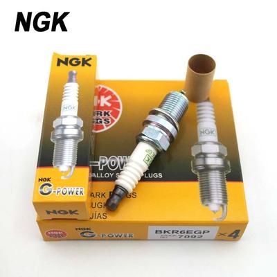 日本原装火花塞 NGK升级版通用型铂金7092/BKR6EGP火花塞批发