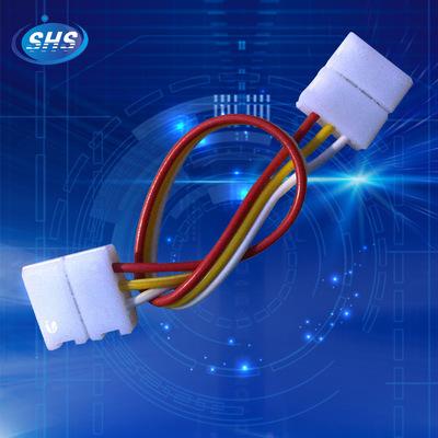 现货 LED 10MM3P灯条连接器幻彩对接双头 免焊双头接连线连接器