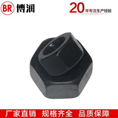 紧固件热销8.8级高强度六角螺母国标碳钢氧化发黑螺帽规格齐全
