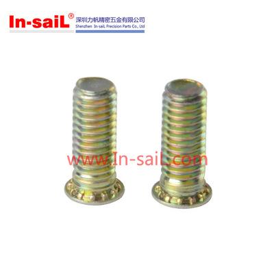 不锈钢压铆螺丝,FHL FHLS-M4-16 钣金冲压螺丝,钢板铆入螺栓