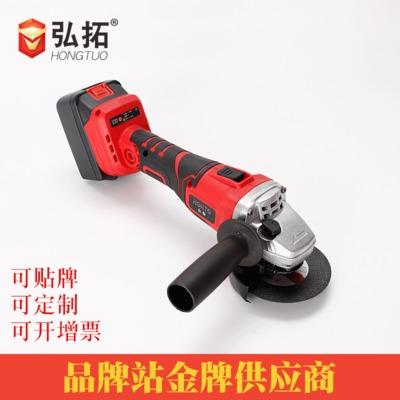厂家直销无刷锂电角磨机 便携工业级电动磨光机工具切割机批发