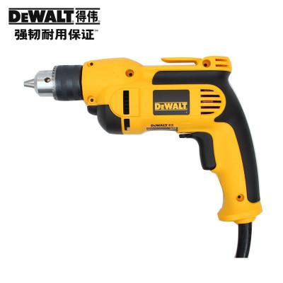 原装正品DEWALT得伟大功率DWD112E调速正反转手电钻 13mm701W