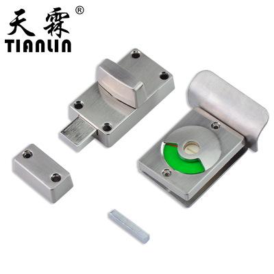 厂家直销 不锈钢指示锁 隔断指示锁 卫生间指示门锁 多规格