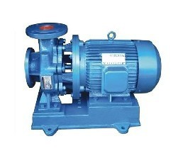 新疆乌鲁木齐现代泵业ISW型卧式管道离心泵现货