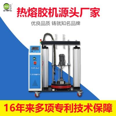 新款大容量PUR覆膜热熔胶机 皮革贴膜PVC贴膜用PUR覆膜热熔胶机