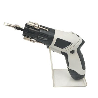 厂家直销 新品家用迷你电动螺丝刀 4.8V充电式旋转起子机多功能