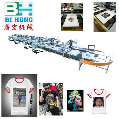 印花机印花机器平网印花机丝印设备二手印花机服装印花厂