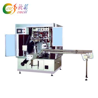 厂家专业批发6605全自动圆瓶单色丝印机化妆瓶丝网印刷机丝印加工