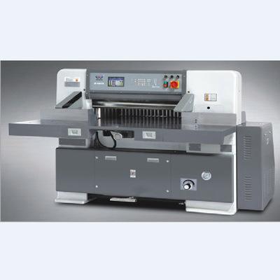 厂家直销优德88中文客户端920型程控液压电脑切纸机
