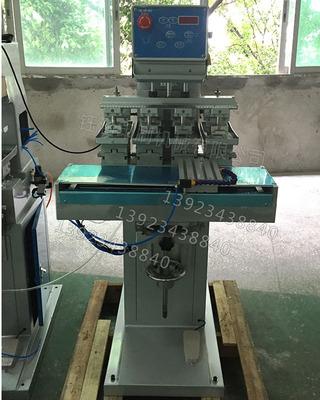 四色移印机穿梭气动油盘移印机环保自动移印机油墨盆打码印机P4/s